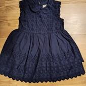 Платье 100% хлопок.