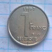 Бельгия 1 франк 1997