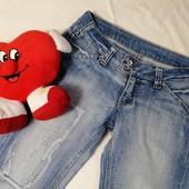 ЛоВиЛоТы! джинсовые капри на стройняшку