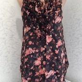 Шикарное, элегантное шифоновое платье!!!