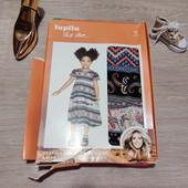 Германия!!! Симпатичное лёгкое платье-сарафан для девочки! 86 рост, полномерный!