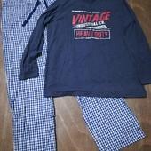Мужская пижама для дома и сна Livergy размер XXL 60 /62 , много лотов с мужским бельём)