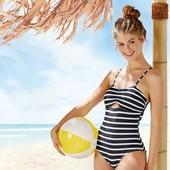 Всегда в моде!!! Фирменный стильный купальник esmara, размер 40 евро