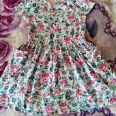 Платье летнее 100% котон