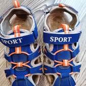 Босоножки сандалии для мальчика на ножку 17.5 см