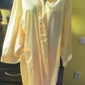 Атласный летний халат (полиэстер)