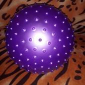 Фиолетовый мячик-ежик.Читайте, собирайте лоты