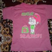 новая летняя футболка на девочку