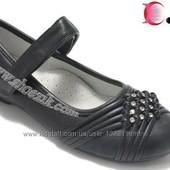 Туфли для девочек Calorie внутри кожа,дешевле закупки