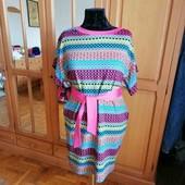 Шикарное платья большого размера .Батал.