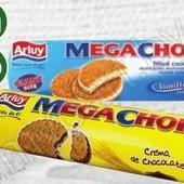 Испания.Печенье-сендвич Arluy Mega Chok в ассортименте 500г.В лоте одно на выбор.