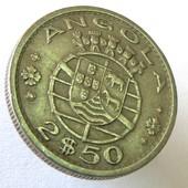 монета Ангола 2,5 эскудо, 1969