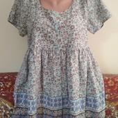короткое платье или туника р. 14