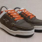 Кожаные кроссовки,кросівки от kangaroos,унисекс✔