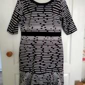 Стильное платье миди Izabella, размер 16