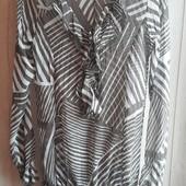 Шик ! Воздушная брендовая блуза-туника р.14