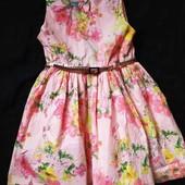 Нереально красивое платье Next сост нового, рост 104