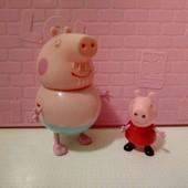Свинка пеппа и дедушка свин
