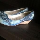 Джинсовые туфли б.у