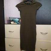 Классное трикотажной платье-футляр по фигуре Atmosphere 4/xxs, xs. На подростка или мини девушку