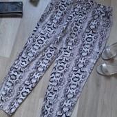 Летние штанишки на резинке размер L ( 40-42) H&M в идеале