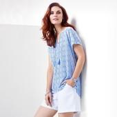 ☘ Блуза-туника с кисточками от Tchibo(Германия), размер наши: 42/46 (36/38 евро)