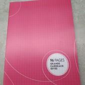 Lidl, Германия, большая тетрадь тетрадь 96 листов, пластиковая обложка