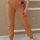 Спортивные штаны/Женские стильные трикотажные джоггеры