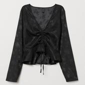 Стильная , эффектная блуза от H&M , 36 евро , наш 42 - 44