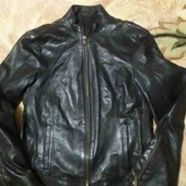 Натуральная кожанная курточка