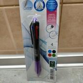 Lidl, Германия, многоцветная шариковая ручка, пишет и стирает