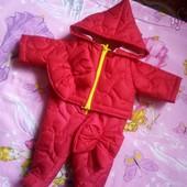 костюм комбинезон +курточка на пупса беби бёрн