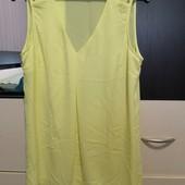 Нежная, лимонная, классная, лёгкая Блузочка F&F размер 12
