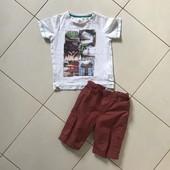 Футболка и шорты на 3-5 лет, см.замеры.