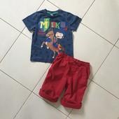 Футболка и шорты на 3-5 лет.