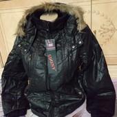 Новая женская чёрная куртка!!! Размер L. Бред Sdony
