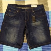 Классные мужские джинсовые шорты Livergy Германия размер 48