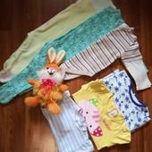 Набір речей для дівчинки 6-9 місяців