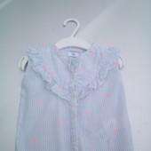 Стоп!!,фирменная красивая яркая натуральная блуза