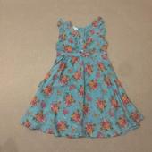 Легкое платье на 7-8 лет