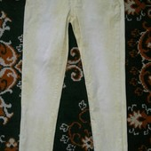 Фирменные женские желтые джинсы р.12 (30р)!!!