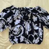 Шифоновая топик блузка -S old navy