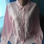 Женская рубашка (100% лён), р.46-50