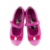 Фирменные туфли балетки Disney 30, 31, 32, 33, 34, 35 размеры