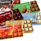 Шоколад шогеттен Schogettten Германия. Лот 1шоколадка. Вкусы на выбор. По ставке любое количество
