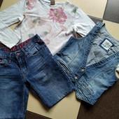 Одним лотом на реглан Zara,джинс жилет H&M ,шорты Cars,смотрим!