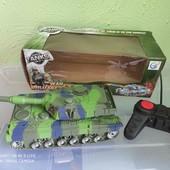 большой танк на пульте управления