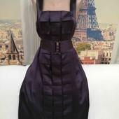 Платье со съёмным шикарным поясом 100 % шёлк, размер М - L.