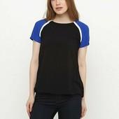 Легенька футболка/блуза з віскози. Європейський розмір 36