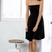 Esmara Германия Легкое платье бандо на лето размер 36-38 S